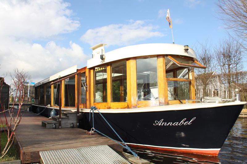 Ongebruikt Salonboot Annabel - Rederij Nieuwkoop JO-72